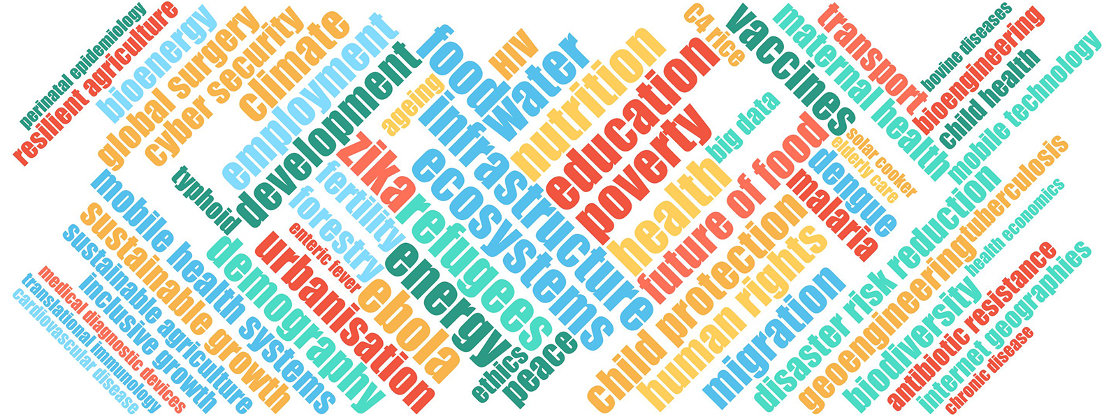 Oxford expertise word cloud